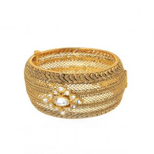 Gupta Dynasty Ethnix Gold Bangle BAANBVA001