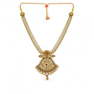 Gupta Dynasty Ethnix Gold Necklace NEANBVA004