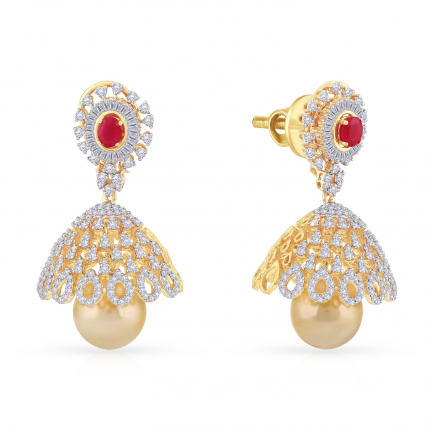 Mine Diamond Earring AE-ADEC-62073-3835