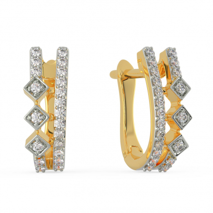 Mine Diamond Earring AJEENSE0927