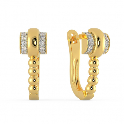 Mine Diamond Earring ASEAJE09138