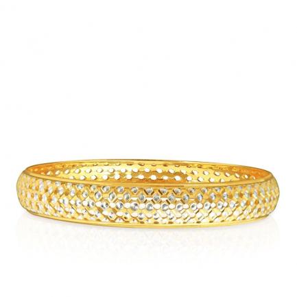 Kerala Christian Malabar Gold Bangle BBMBBIB01273