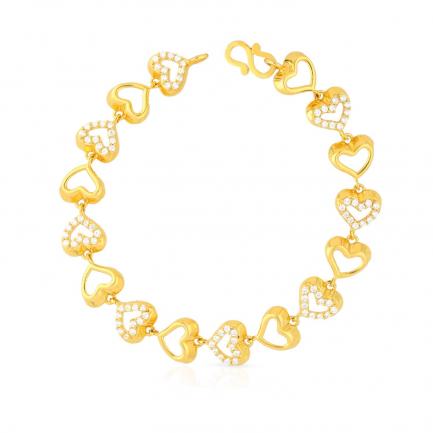 Malabar Gold Bracelet BRGEDZRURGT334
