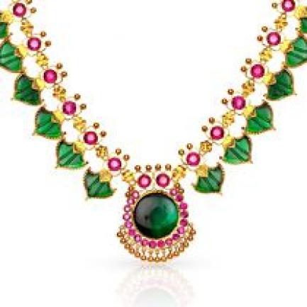 Kerala Hindu Malabar Gold Palakka Mala CNK0675GR