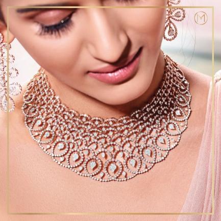 2020 Edition The Shimmering Bride Necklace DBR0471NE