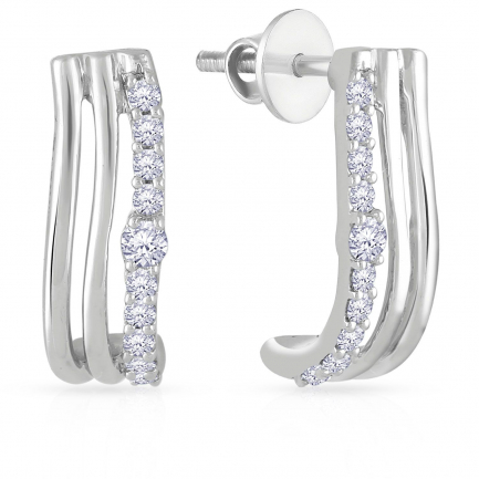 Mine Platinum Earring E152501PT