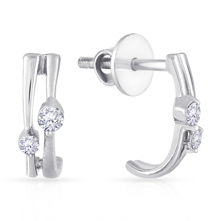 Mine Platinum Earring ER21408PT