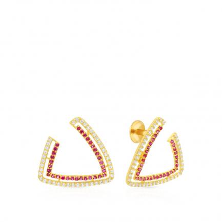 Malabar Gold Earring ERDZHRN042