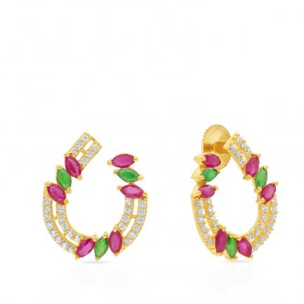 Malabar Gold Earring ERDZHRN044