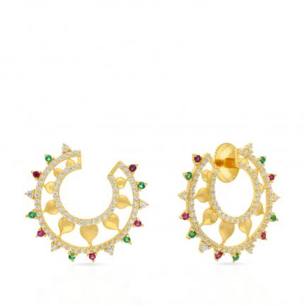 Malabar Gold Earring ERDZHRN045