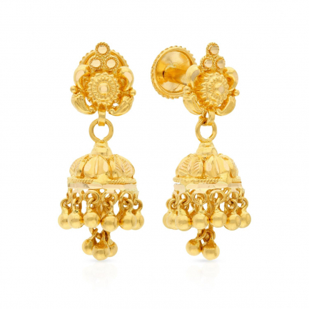 Malabar Gold Earring ERNOBAN005