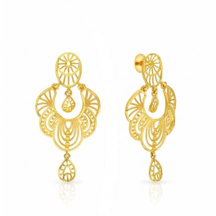 Malabar Gold Earring ERSK1746A
