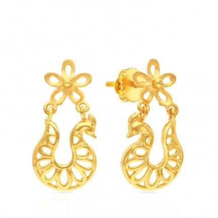Malabar Gold Earring ERSK2394A