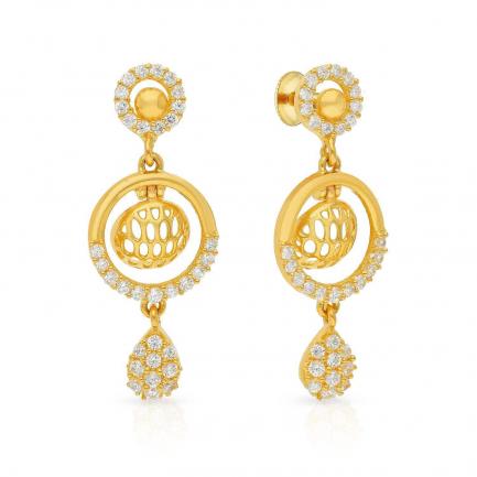 Malabar Gold Earring ERSK5629