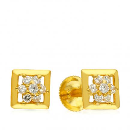 Malabar Gold Earring ERSK5942B