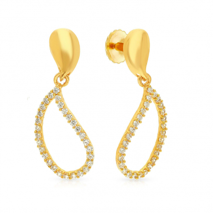 Malabar Gold Earring ERSK7559B