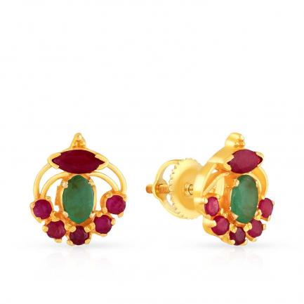 Precia Gold Earring ERSNGGM028