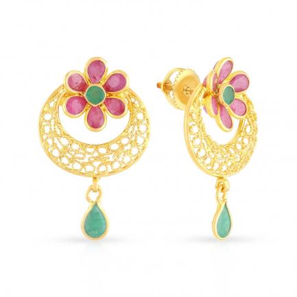 Precia Gold Earring ERSNGGM056