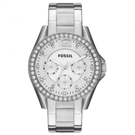 Fossil Women's Riley Silver Watch ES3202