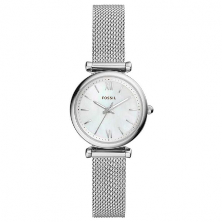 Fossil Women's Carlie Mother Of Pearl Watch ES4432