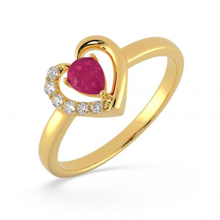 Precia Gemstone Ring FRPRHDPRRGA012