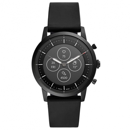 Fossil Men's Hybrid Smartwatch Black Watch FTW7010