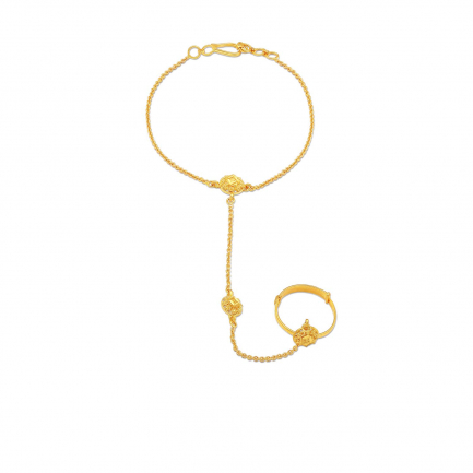 Malabar Gold Hand Anklet HACOVM0006