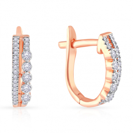 Mine Diamond Earring HKEERF2881GEB
