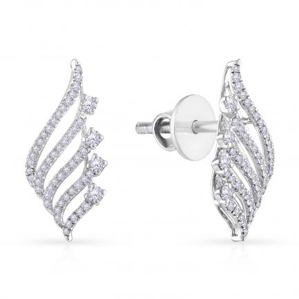 Mine Diamond Earring HKEERT0908GEB