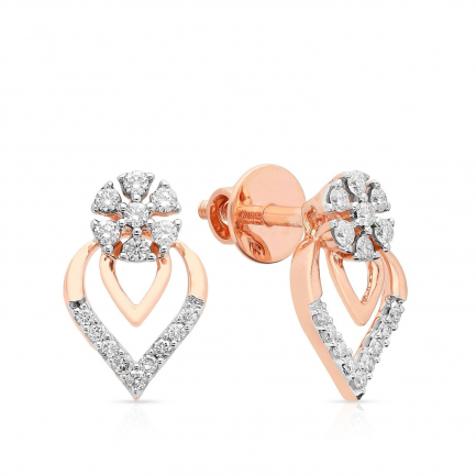Mine Diamond Earring HKEESF3622GEA