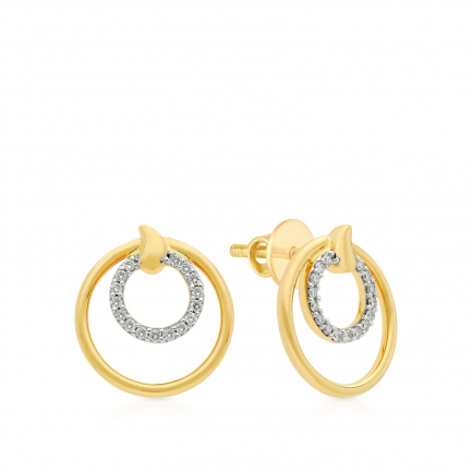 Mine Diamond Earring HKEESF8080HOA