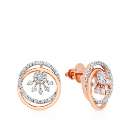 Mine Diamond Earring HKEESF8185HOB