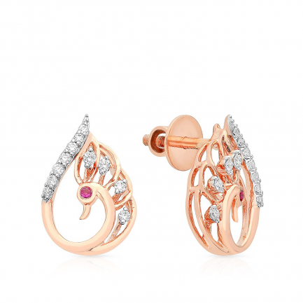 Mine Diamond Earring HKEESF8295PEA