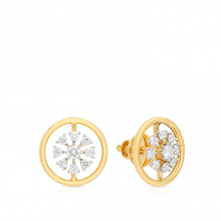 Mine Diamond Earring HKEESG8189HOB