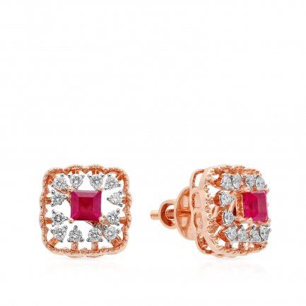 Mine Diamond Earring HKEESG8276TD0A