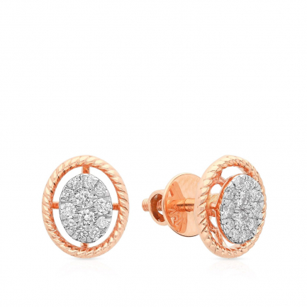 Mine Diamond Earring HKEESG8342IMA