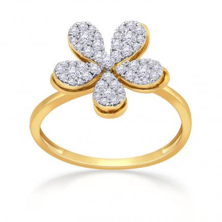 Mine Diamond Ring HKRRGF0557IMB