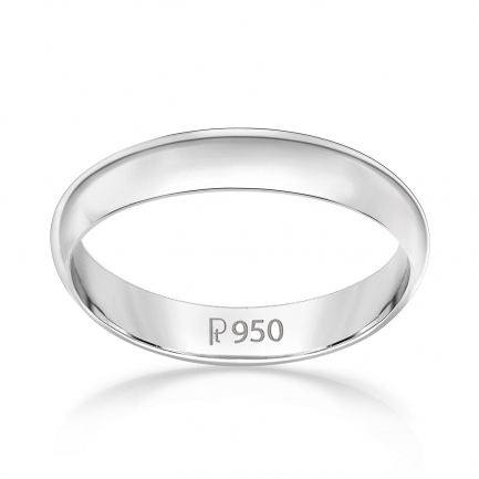 Mine Platinum Ring JIRL1011GPR