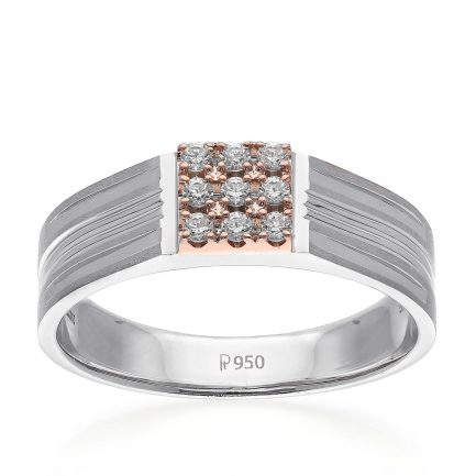 Mine Platinum Ring JIRLMR06864