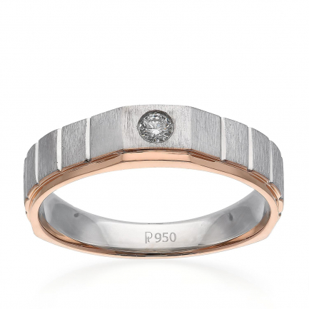 Mine Platinum Ring JIRLMZ04457