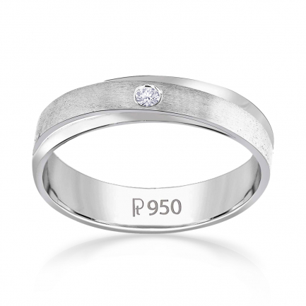 Mine Platinum Diamond Ring JIRR5627GPR
