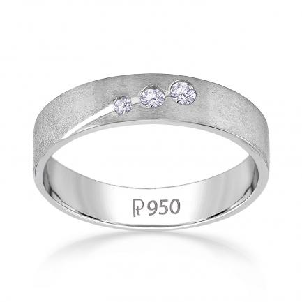 Mine Platinum Diamond Ring JIRR5630LPR