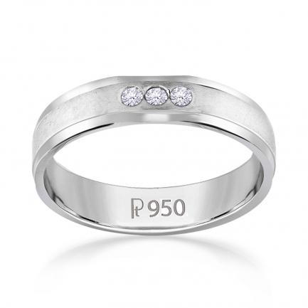 Mine Platinum Diamond Ring JIRR5632LPR