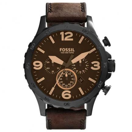 Fossil Men's Nate Black Watch JR1487