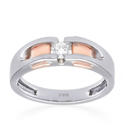 Mine Platinum Ring JRM39180F