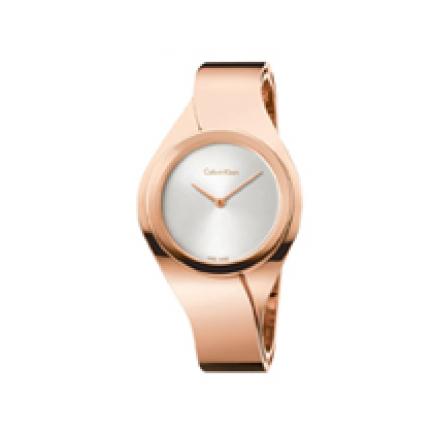 Calvin Klein Women's Senses Gold Plated Watch K5N2M626