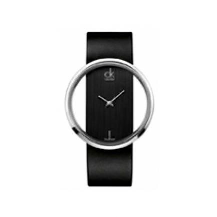 Calvin Klein Women's Glam Leather Watch K9423107