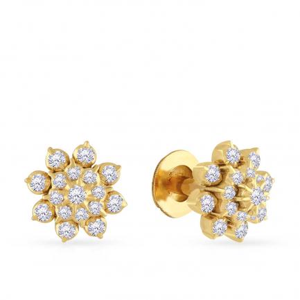 Mine Diamond Earring KDECST363