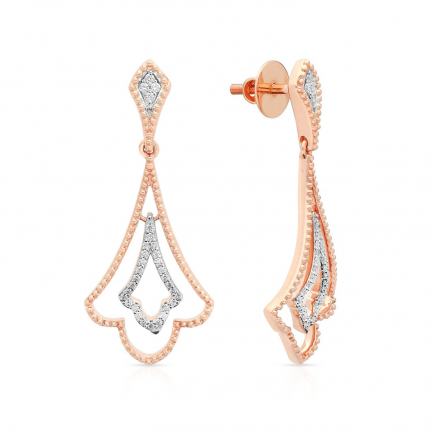Mine Diamond Earring KEJEF72070F