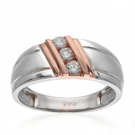 Mine Platinum Ring KRJRM91870Q